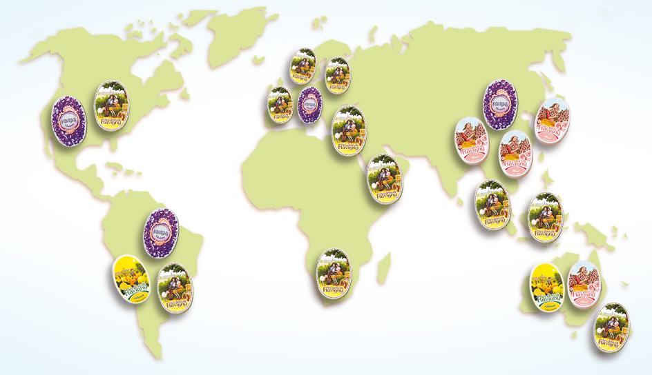 I nostri Anis sono apprezzati ovunque nel mondo!