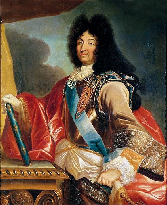 """Luigi XIV ritratto da Mignard. Il Re Sole amava succhiare delle caramelle """"all'anisse""""…"""