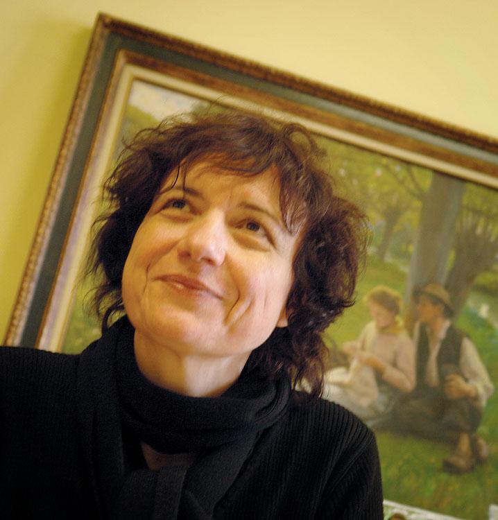 Catherine Troubat, fabbricante degli Anis de Flavigny dal 1990 ad oggi.