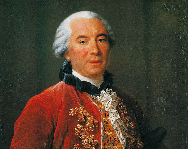 George Buffon (1707-1788), naturalista, biologo matematico, scrittore e accademico.