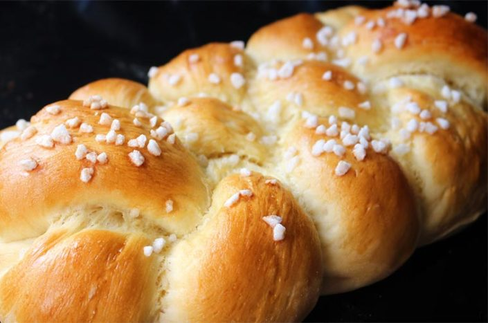 Brioche with Petits Anis